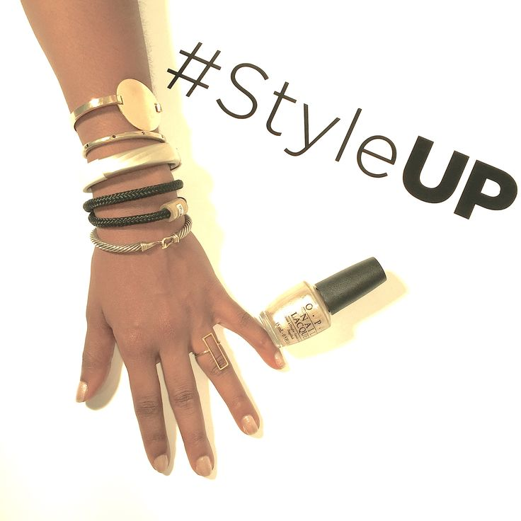 Showing off how I #StyleUP. Here's my #ArmParty. Now, share yours!