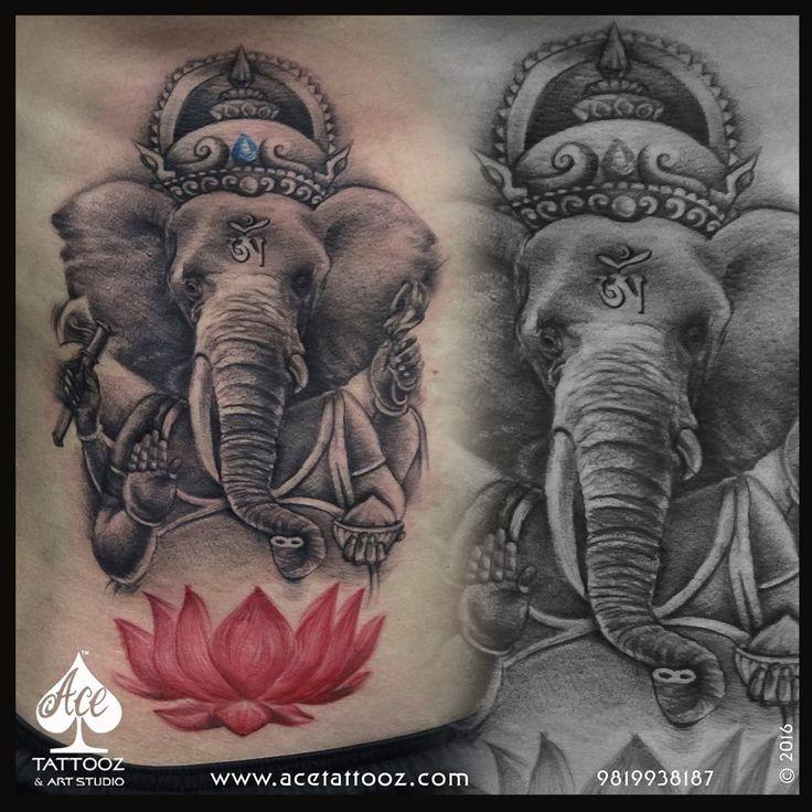 22 Best Lord Ganesha Tattoo Images On Pinterest