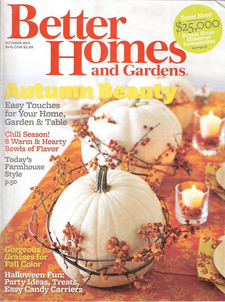 Better Homes And Gardens Magazine October 2011