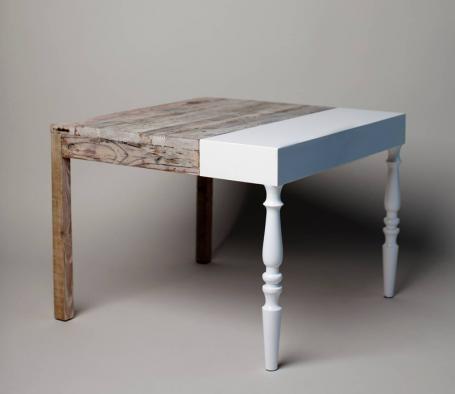 GRANNIE Table by STUDIO ZIBEN, BERLIN, a singular piece with a fantastic design between art and craftsmanship. (599 €)