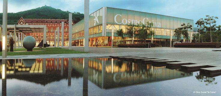 """CosmoCaixa Barcelona, Museo de la Ciencia de la Obra Social """" la Caixa """". Planetario digital 3D. // CosmoCaixa Barcelona, Museu de la Ciència de l'Obra Social """" la Caixa """". Planetari digital 3D."""