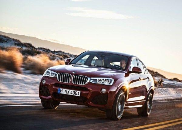 BMW X4 2015 Photos 600x428 2015 BMW X4 Review