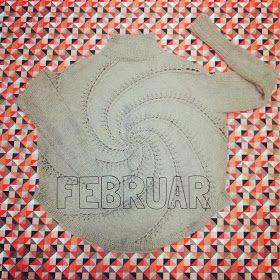 Savværksvej: Februar - 12 months of knitting