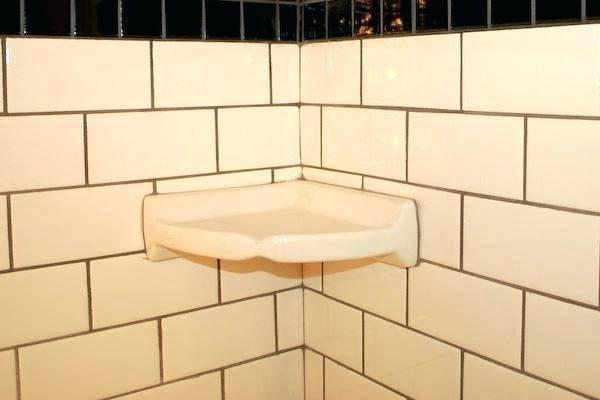 Daltile Corner Shelf Ceramic Tile Corner Shelf Shower Shelves