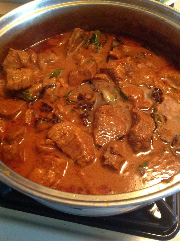 Goat curry for Eid holiday