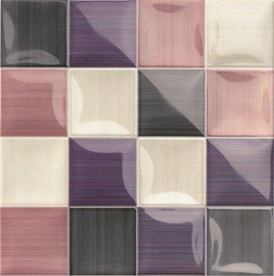 #Mainzu #Lucciola Volumen Viola 20x20 cm | #Porcelain stoneware #Decor #20x20 | on #bathroom39.com at 42 Euro/sqm | #tiles #ceramic #floor #bathroom #kitchen #outdoor