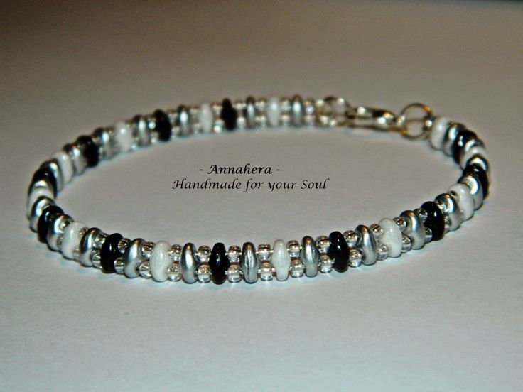 """ANNAHERA"" - handmade for your soul: SuperDuo bracelet"