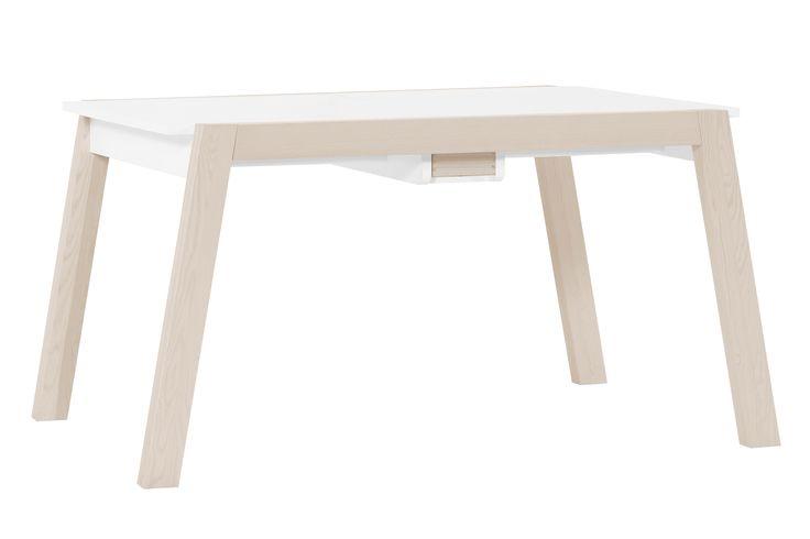 #stół #drewniany #jadalny  #design #jadalny #jadalnia #kuchenny #drewno #rozkładany #nowoczesny #skandynawski #biały #diy #wystrój  #pomysły #VOX #wnętrza   #duży #salon #kuchnia #biały