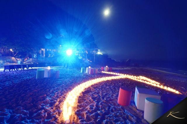Full moon party #karmaresorts