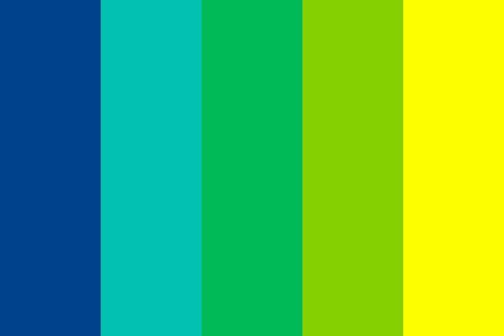 Tropical Rainforest Color Palette in 2020 | Color palette ...
