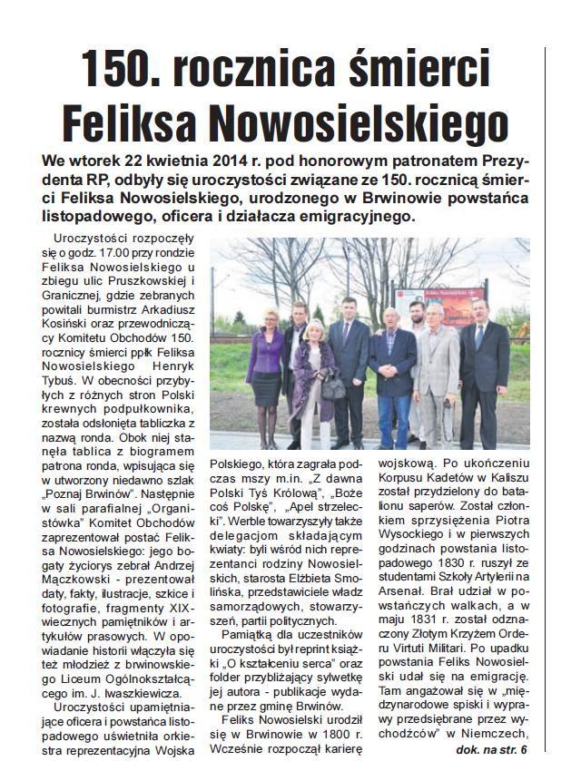 Gazeta mazowiecka 05-05-2014 str 5.