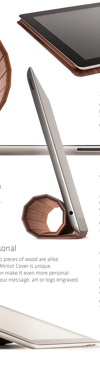 Miniot Cover Mk2  w3.miniot.com: Wooden Ipad, Miniot Wooden, Wood Covers, Beautiful Wood, Wood Ipad, Wooden Covers