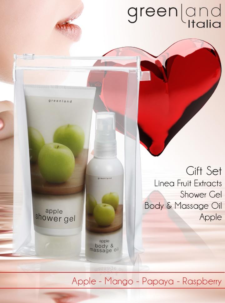 Dopo una doccia insieme, la passione di un massaggio...  Una confezione per gli innamorati ma non solo...