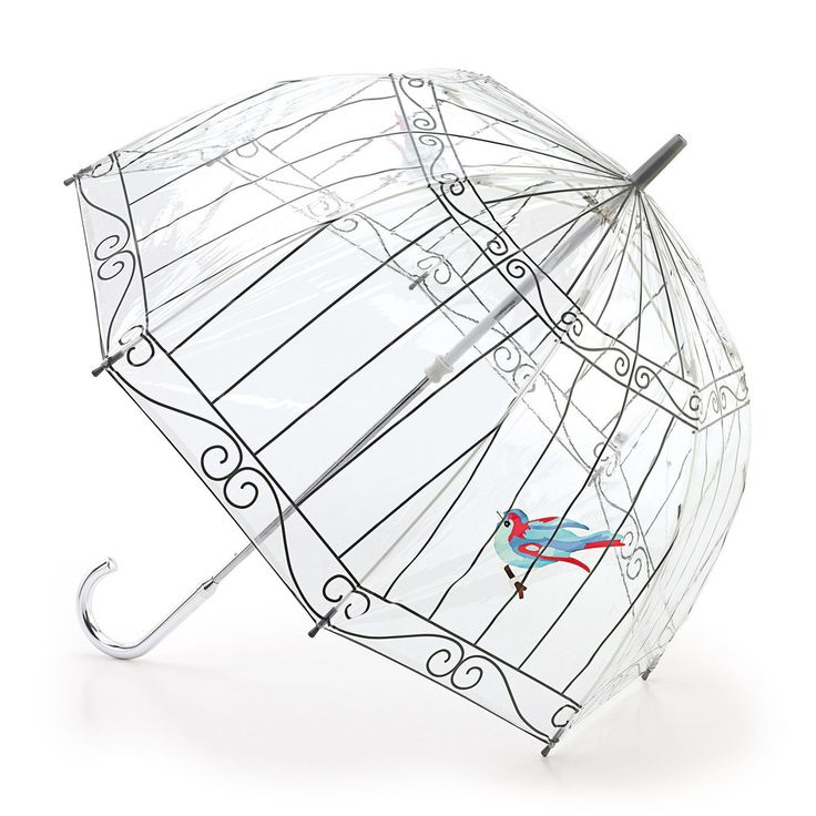 I think this is the coolest umbrella I have ever seen. Lulu Guinness Birdcage Umbrella - LOVE