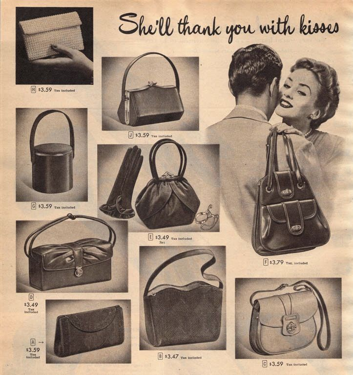 purses | Vintage Clothing Love: Pretty 1950s purses