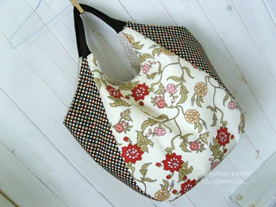 """shoulder bag pattern from """"I think sew"""".  This pattern no longer available."""
