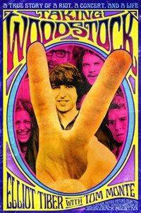 #TakingWoodstock is the funny, touching, and true story of Elliot Tiber, whose parents owned an upstate #NewYork motel and was working in #GreenwichVillage in the summer of 1969. He socialized with the likes of #TrumanCapote, #TennesseeWilliams, and photographer #RobertMapplethorpe, managing to keep his sexuality a secret. When Elliot learned that the #Woodstock Concert promoters were unable to stage the show in #Wallkill, he offered to find them a new venue.