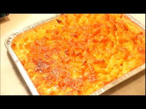 """HOW TO MAKE - Macaroni and Cheese Recipe  Jamaican style- Baked""   She might want to dub some Reggae music for effect."