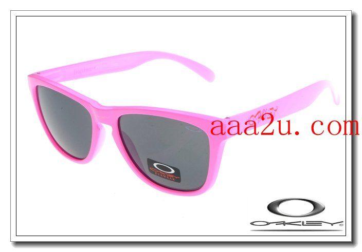 Oakley frogskins sunglasses neon pink / black iridium $13.00