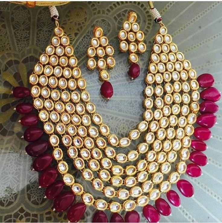 Wedding Jewelry! Pinterest • @KrutiChevli