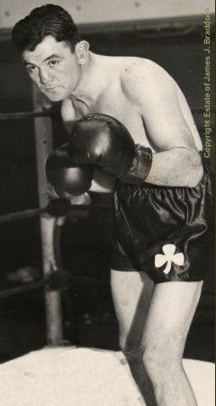 """On June 13th, 1935, in Long Island City, N.Y., """"Cinderella Man"""" James J. Braddock, as a 10 to 1 underdog, won the heavyweight championship of the world from Max Baer."""