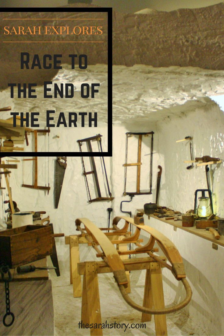 """""""I am just going outside and I may be some time.""""  The race to the end of the earth..."""