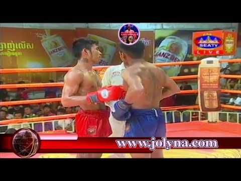 Yorn Pisey Vs Chea ChomRaoen | SEATV Boxing | Khmer Boxing Today - JOLYNA