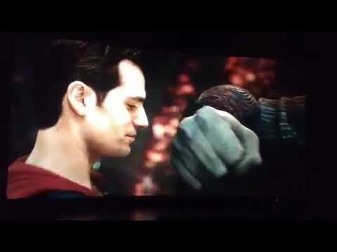 Superman vs Steppenwolf (Justice League clip) - YouTube
