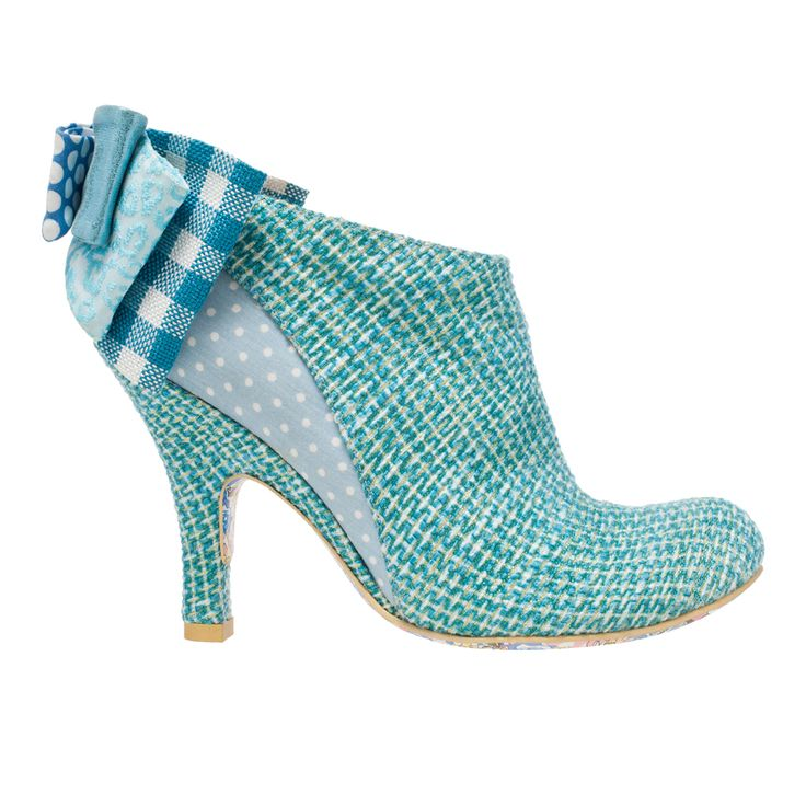 Baby Beauty Blue  Back for this season in a stunning blue woven fabric  coloured upper