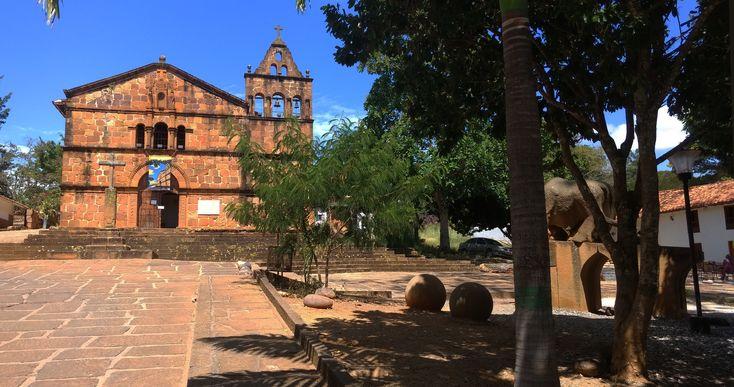 Barichara - Santanter (Iglesia Santa Bárbara)