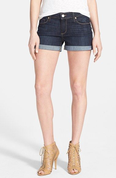Paige Denim 'Jimmy Jimmy' Denim Shorts (Dean) available at #Nordstrom