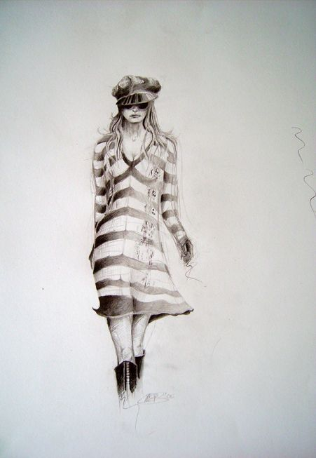 Fashion Drawing | by Eve Lingen