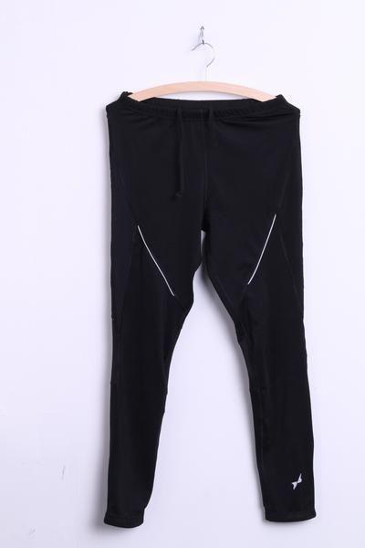 Shamp Womens S Leggings Trousers Sweatpants Black - RetrospectClothes