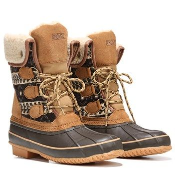 Khombu Macie Boot in Brown Sweater