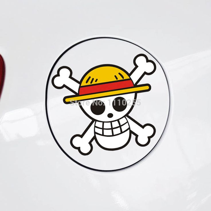 One Piece Skull Body Car Sticker Decal //Price: $7.00 & FREE Shipping //     #onepiece #onepieceanime #dluffystore