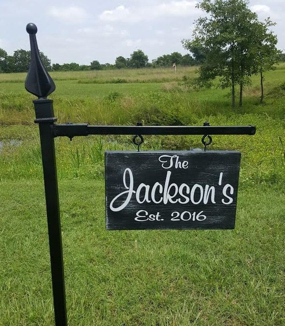 Yard Signs Personalized, Garden Signs, Family Name Signs