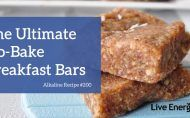 THESE ARE RIDICULOUSLY EASY AND DELICIOUS!  I love them so much.  They\\\'re great to make in bulk and have stored, and are so fast.  They are also tasty, have the anti-inflammatory properties from the ginger, protein and fibre from the oats, healthy fats from the coconut oil ...