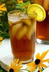 the chill of ice cold tea: tea