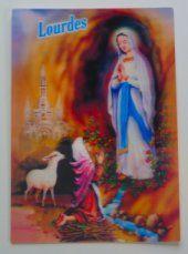 Lourdes 3D Apparition Picture.