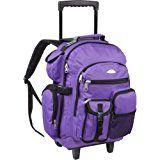 Everest Deluxe Wheeled Backpack