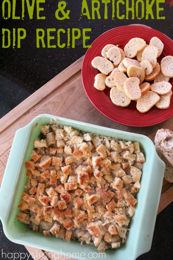 warm olive and artichoke dip recipe is a party favorite and crowd ...
