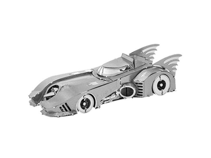 Batman Themed Metal Modelling Kits - 3D model kits for Batmobiles, Batwings and the Bat-Signal