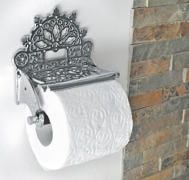 21 best toilet roll holders images on pinterest toilet for Victorian style bathroom accessories