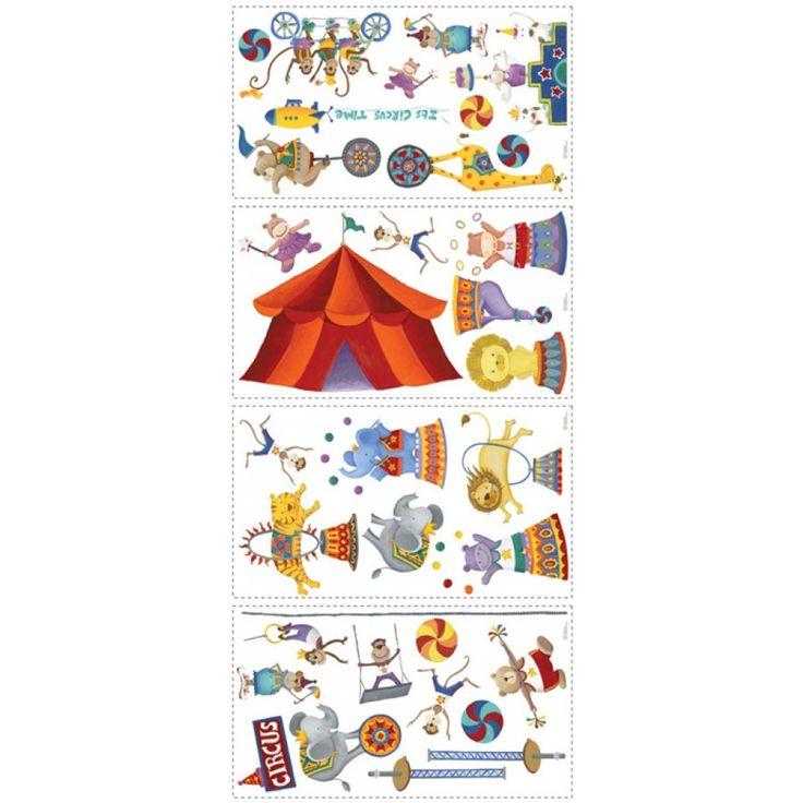Bildresultat för väggdekor barn cirkus