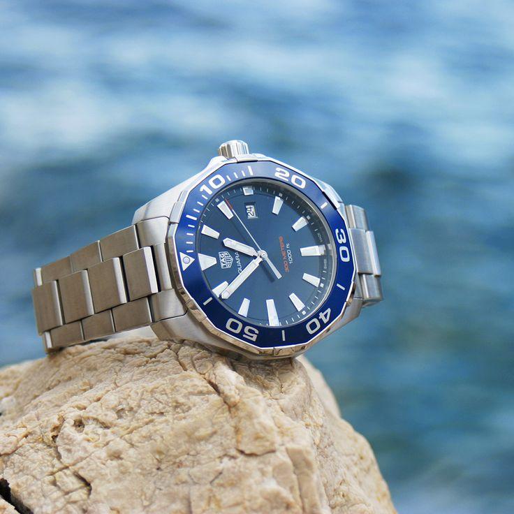 Maritime Zeitmesser... wie die TAGHeuer Aquaracer 300M