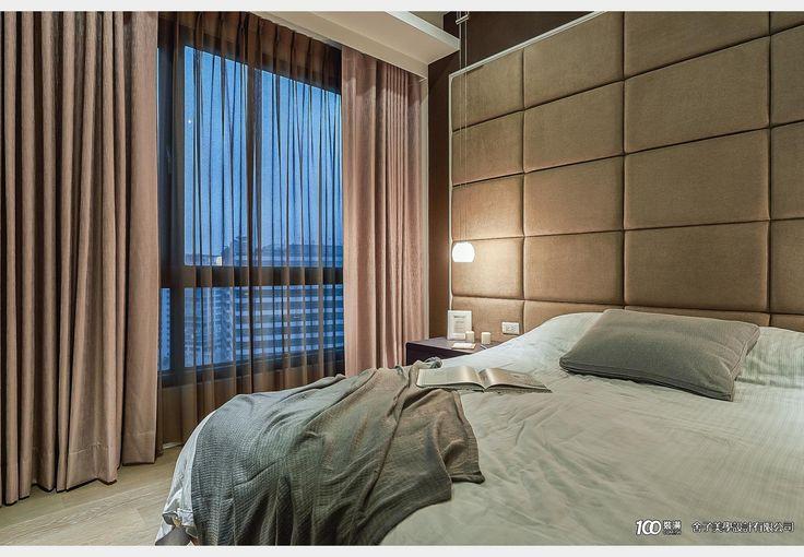 現代飯店風潘宅_飯店風設計個案—100裝潢網