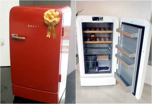 Ретро холодильник Bosch