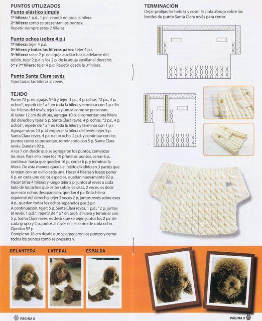 ganchillo y tricot...anamary: tejiendo para nuestras mascotas...