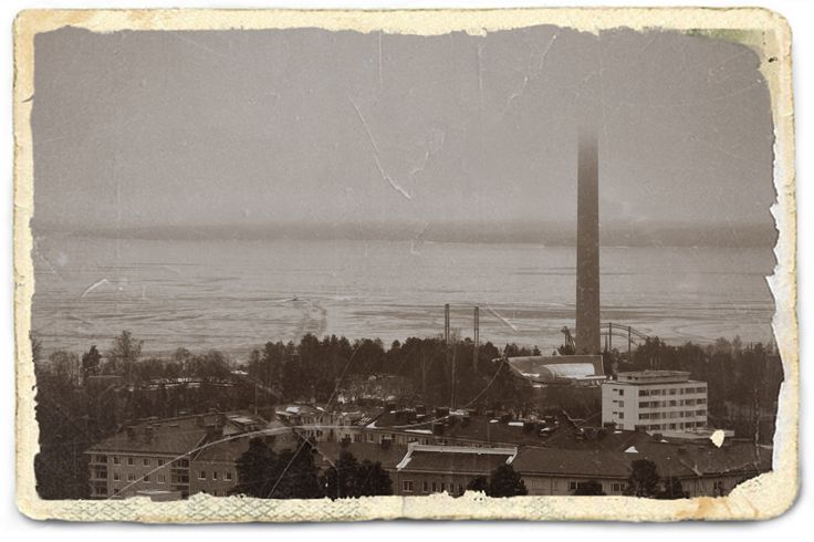 Tampere in the fog