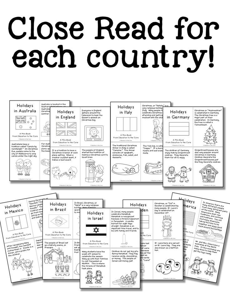 Christmas Around The World Coloring Pages First Grade